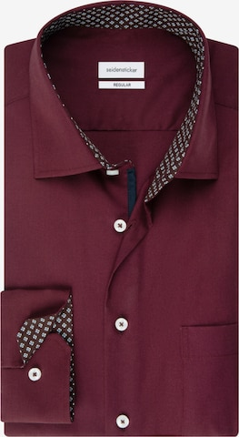 SEIDENSTICKER Business Hemd ' Regular ' in Rot