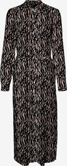 VERO MODA Kleid in altrosa / schwarz / weiß, Produktansicht