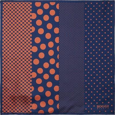 Boggi Milano Pochette en bleu marine / marron, Vue avec produit