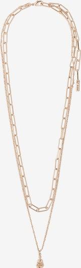 Pilgrim Necklace 'Sincerity' in rosegold / grau, Produktansicht