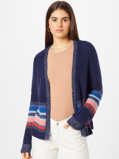 LIEBLINGSSTÜCK Knit Cardigan 'Katalena' in Night blue / Mixed colors, View model