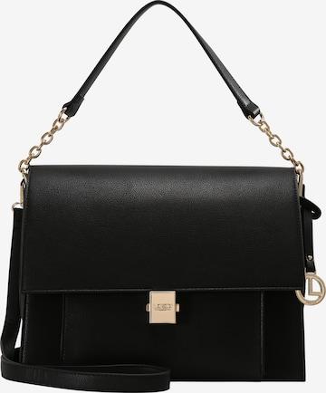 L.CREDI Handtasche 'Glenda' in Schwarz
