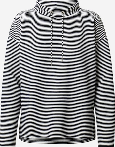TOM TAILOR Sweatshirt in dunkelblau / weiß, Produktansicht