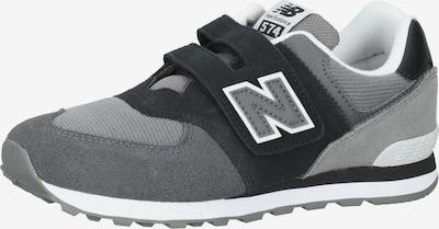 new balance Sneakers in de kleur Antraciet / Zwart / Wit, Productweergave