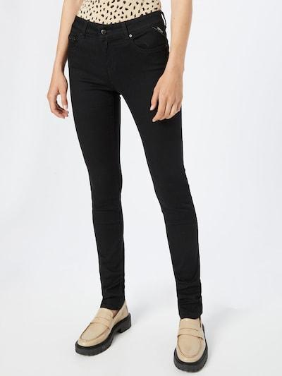 REPLAY Hose 'FAABY' in schwarz, Modelansicht