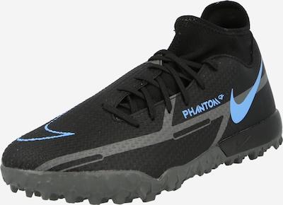 NIKE Παπούτσι ποδοσφαίρου 'Phantom GT2 Academy' σε μπλε νέον / σκούρο γκρι / μαύρο, Άποψη προϊόντος