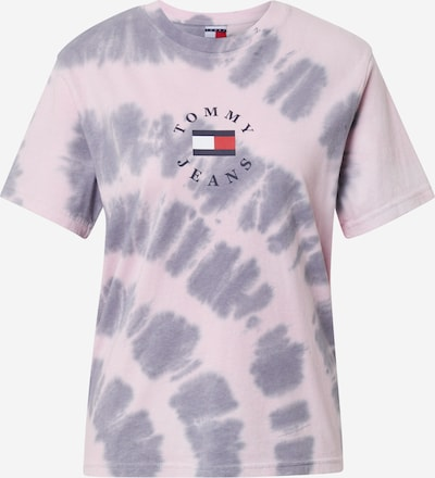 Tommy Jeans Shirt in de kleur Sering / Lichtroze / Rood / Zwart / Wit, Productweergave