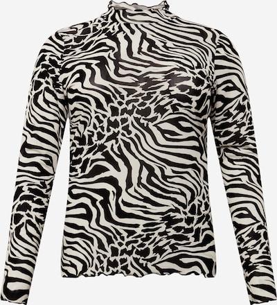 Urban Classics Curvy Тениска в черно / бяло, Преглед на продукта