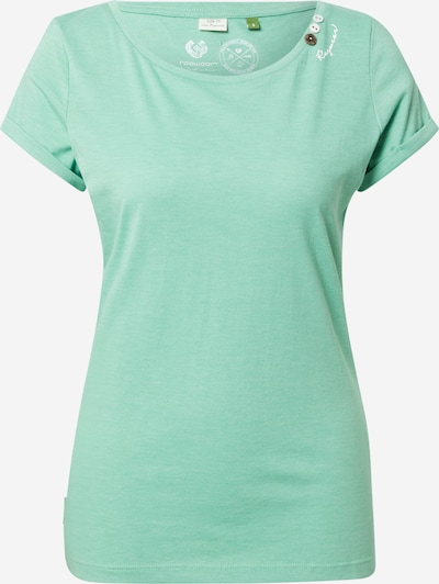 Ragwear T-Shirt 'FLORAH' in jade, Produktansicht