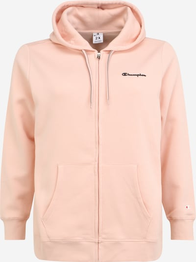 Champion Authentic Athletic Apparel Sweatjacke in rosa, Produktansicht