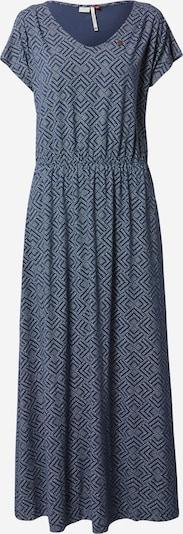 Ragwear Robe d'été en bleu marine / indigo / blanc, Vue avec produit