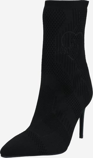 Love Moschino Enkellaarsjes in de kleur Zwart, Productweergave