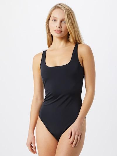 ROXY Maillot de bain sport en anthracite, Vue avec modèle