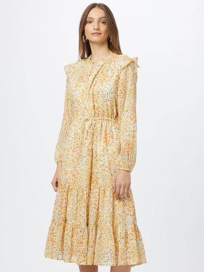 s.Oliver Kleid in gelb / rot / schwarz / weiß, Modelansicht