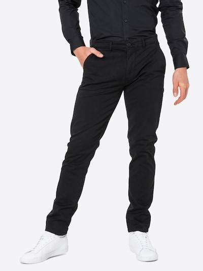 Casual Friday Chinohousut 'Viggo' värissä musta, Mallinäkymä