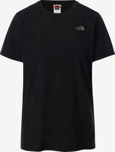 THE NORTH FACE D T-Shirt CAMPAY in schwarz, Produktansicht