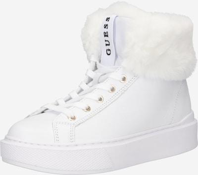 Bocanci de zăpadă 'HISTORI' GUESS pe alb, Vizualizare produs