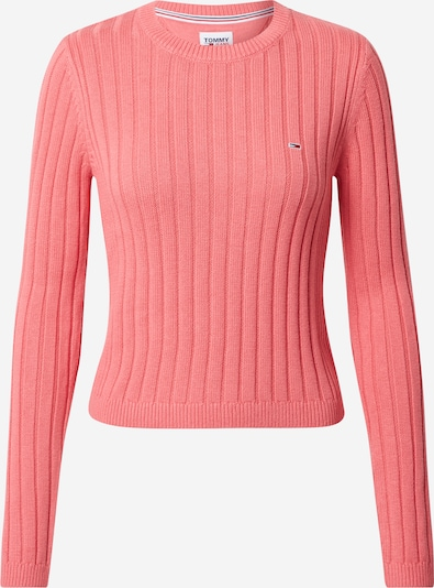 Tommy Jeans Pullover in pink, Produktansicht