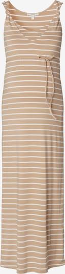 Esprit Maternity Kleid in beige / weiß, Produktansicht