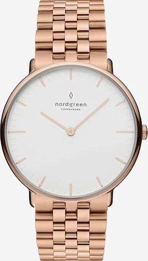 Nordgreen Nordgreen Unisex-Uhren Analog Quarz ' ' in rosegold, Produktansicht