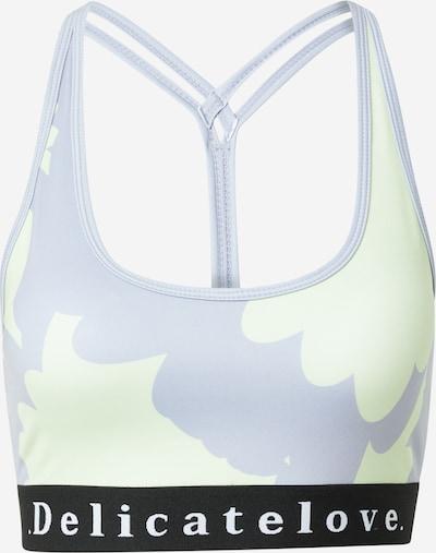 DELICATELOVE Sports Bra 'SHIVA' in Opal / Pastel green / Black / White, Item view