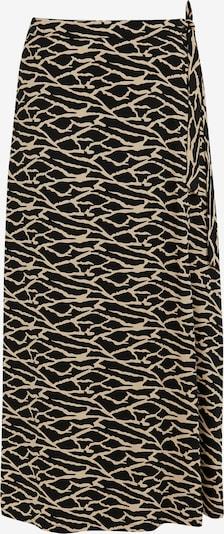Finn Flare A-Linien-Rock in schwarz, Produktansicht