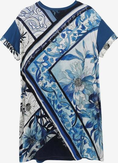 Desigual Klänning 'SOLIMAR' i blå / ljusblå / mörkblå / vit, Produktvy