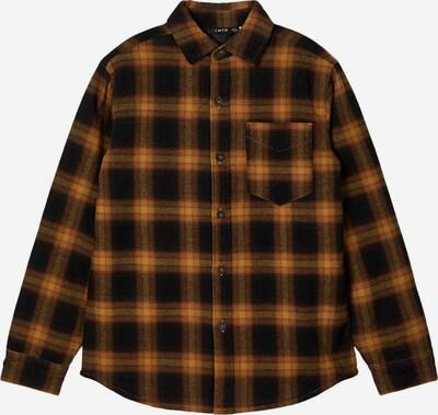 NAME IT Overhemd in de kleur Bruin / Zwart, Productweergave
