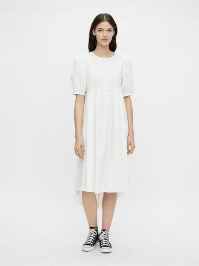 PIECES Kleid 'Olivia' in weiß, Modelansicht