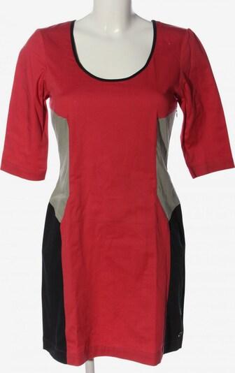 Skunkfunk Etuikleid in S in hellgrau / rot / schwarz, Produktansicht