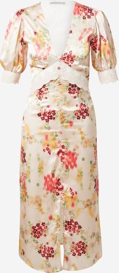 Hope & Ivy Kleid 'THE MABEL' in beige / grasgrün / orange / rot / merlot, Produktansicht