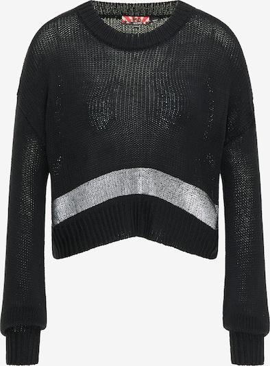myMo ROCKS Trui in de kleur Zwart / Zilver, Productweergave