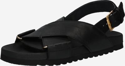 Apple of Eden Sandale in schwarz, Produktansicht
