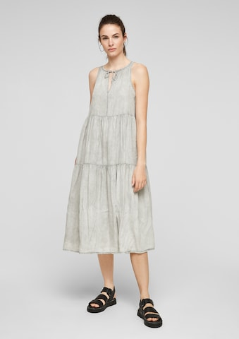 Q/S by s.Oliver Dress in Grey