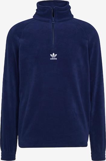 Bluză de molton ADIDAS ORIGINALS pe albastru / albastru închis, Vizualizare produs