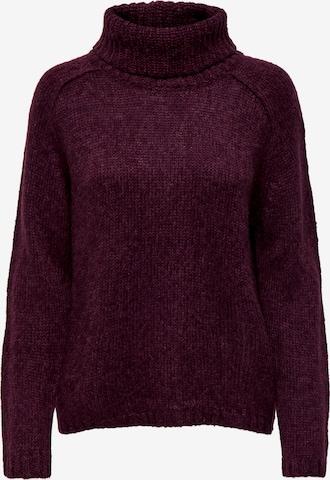 JDY Sweater 'Sandis' in Purple