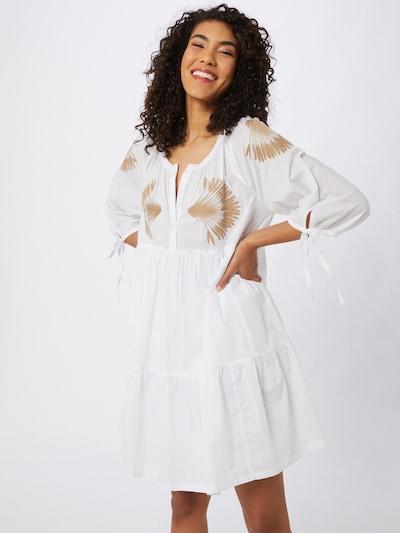 STEFFEN SCHRAUT Dolga srajca 'Ipanema'   rjava / bela barva: Frontalni pogled
