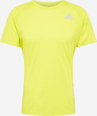 ADIDAS PERFORMANCE T-Shirt 'Runner' in neongelb, Produktansicht