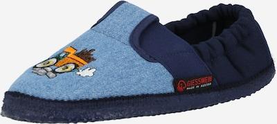 GIESSWEIN Pantoufle 'Arbach' en marine / bleu denim / orange clair, Vue avec produit