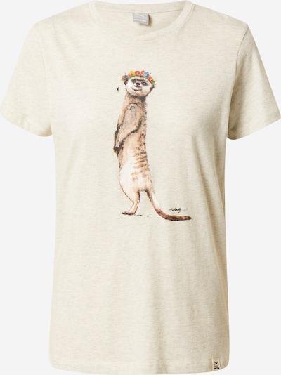 Iriedaily Camiseta 'Frida Erdmann' en ecru / mezcla de colores, Vista del producto