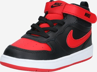 Nike Sportswear Sneaker 'Court Borough Mid 2' in rot / schwarz / weiß, Produktansicht