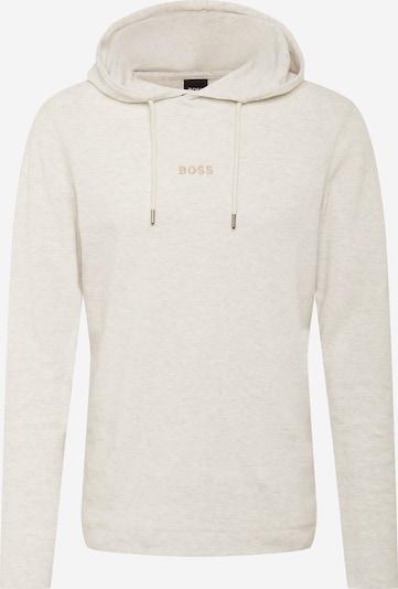 BOSS Sweatshirt 'Thooflash' in de kleur Beige, Productweergave