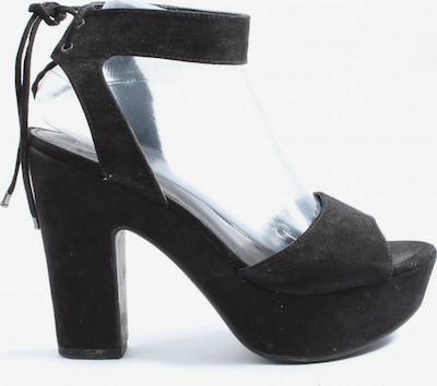 Graceland Plateau-Sandalen in 39 in schwarz, Produktansicht
