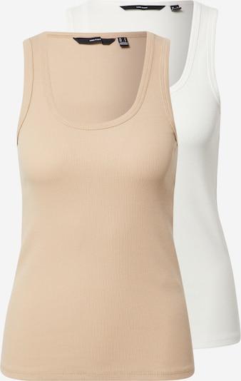 Top 'JESSICA' VERO MODA di colore beige / bianco, Visualizzazione prodotti