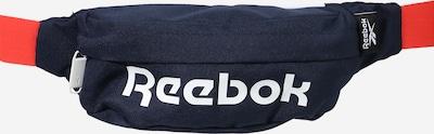 REEBOK Urheiluvyölaukku värissä laivastonsininen / valkoinen, Tuotenäkymä