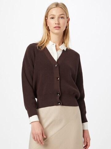 Riani Knit Cardigan in Brown