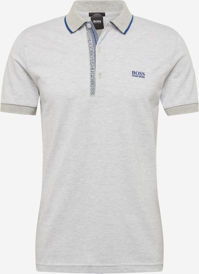 BOSS ATHLEISURE T-Krekls 'Paule', krāsa - karaliski zils / raibi pelēks, Preces skats