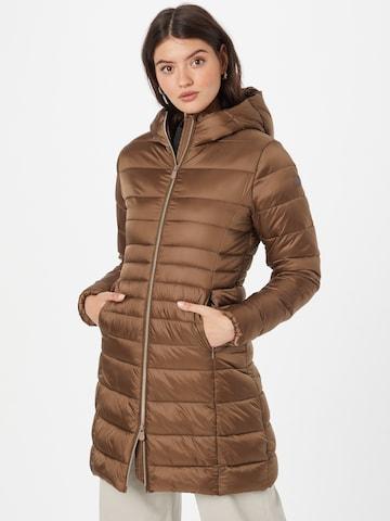 SAVE THE DUCK Prechodný kabát 'CAMILLE' - Hnedá