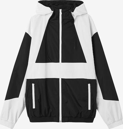Calvin Klein Jeans Jacke in schwarz / weiß, Produktansicht