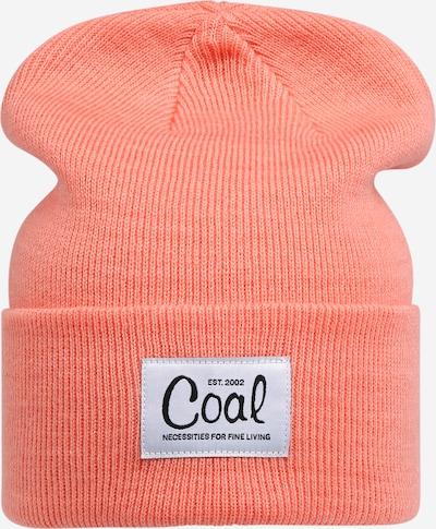 Megzta kepurė iš Coal , spalva - šviesiai oranžinė, Prekių apžvalga
